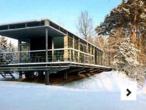 Ferienhaus am Fluss - Lüneburger Heide