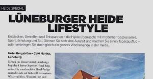 HeideLoft - Tageszeitungsbeilage Designer Outlet Soltau Titel